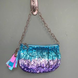 Coach Poppy Sequin Ombre Limited Edition Chain Bag